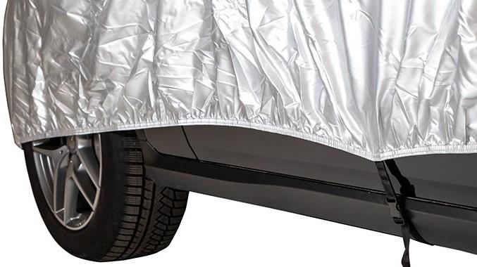 Custom-fit car hail protector